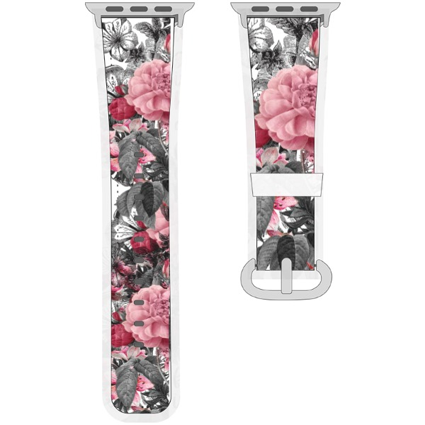 Flower watch band - Watchband for Apple Watch