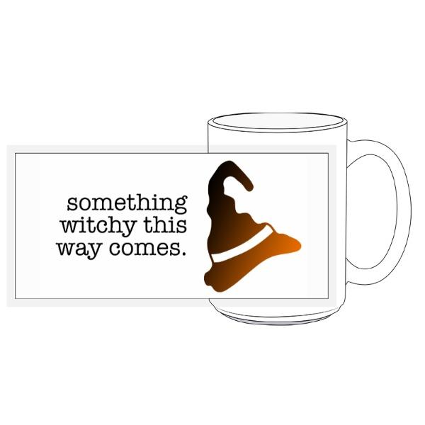 Something Witchy Mug - 15oz Ceramic Mug
