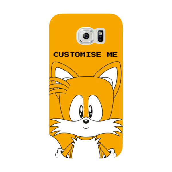 Samsung Galaxy S6 Phone Case - Tails Face - Classic Sonic