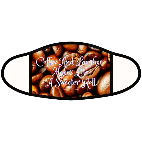 Face Mask - Coffee Large