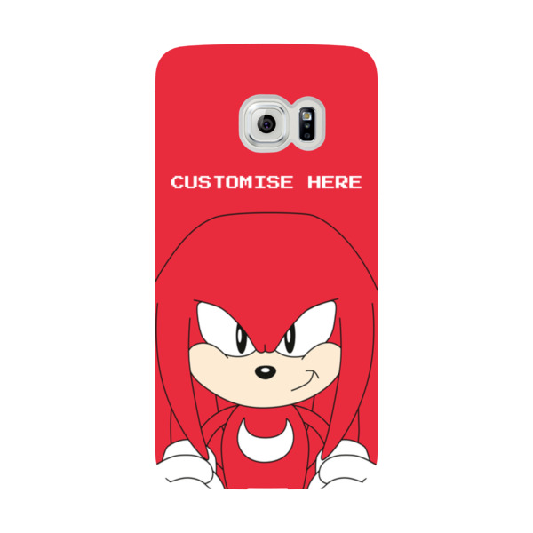 Samsung Galaxy S6 EDGE Phone Case - Knuckles Face - Classic Sonic