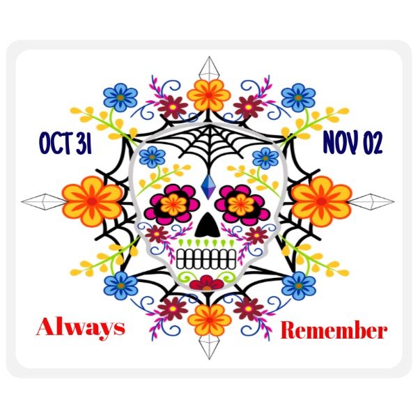 Day of the Dead - Mousepad