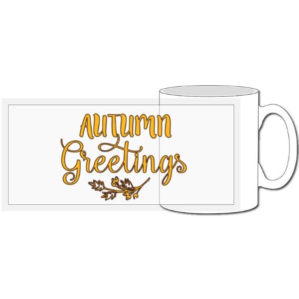Autumn Greetings - 10oz Ceramic Mug
