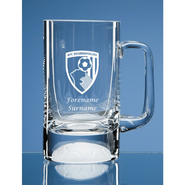 AFC Bournemouth Crest Half Pint Ball Base Tankard