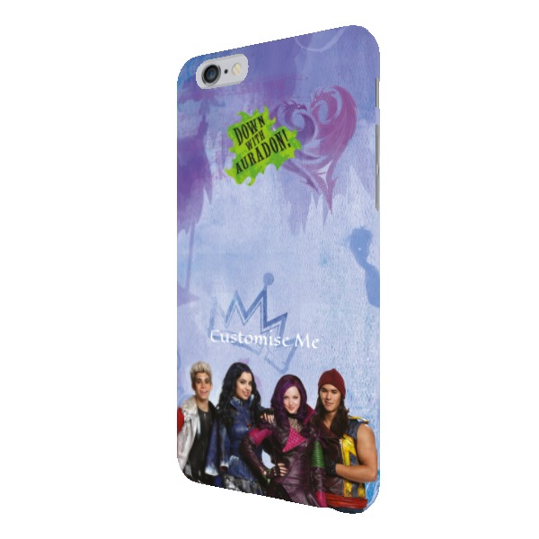 Disney The Descendants Group Design iPhone 6+/6s+ Clip Case