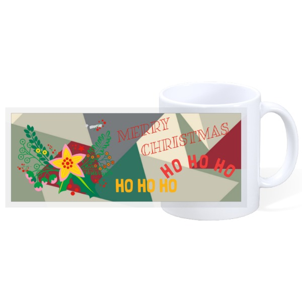 merry christmas ho ho ho - 11oz Ceramic Mug
