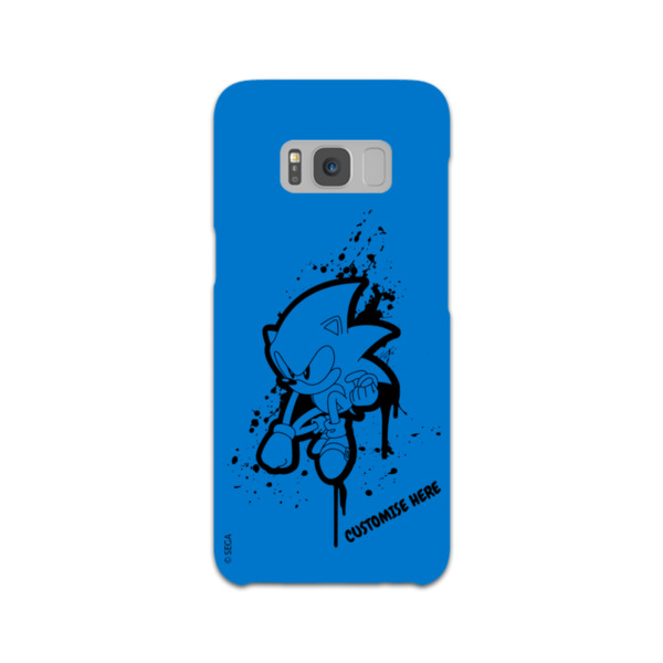 Samsung Galaxy S8 Phone Case - Sonic Graffiti - Classic Sonic