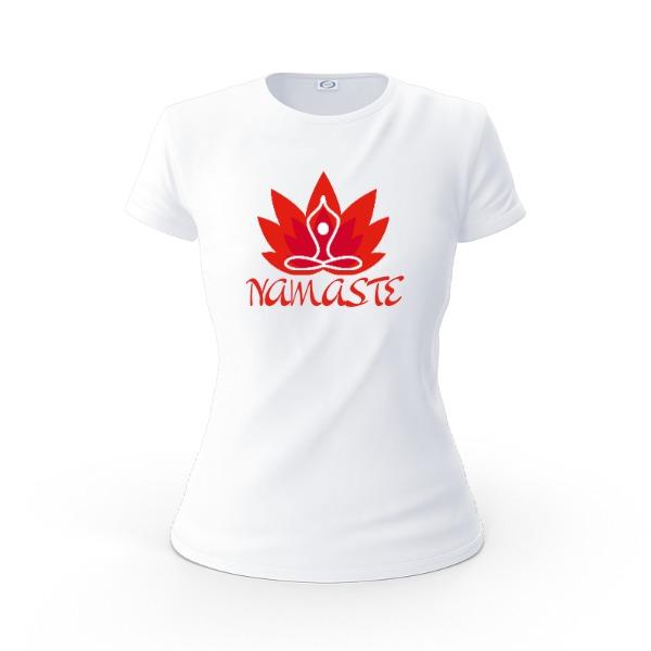 Namaste - Ladies Solar Short Sleeve Large Print Area