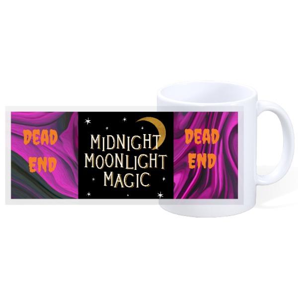 midnight moonlight magic - 11oz Ceramic Mug