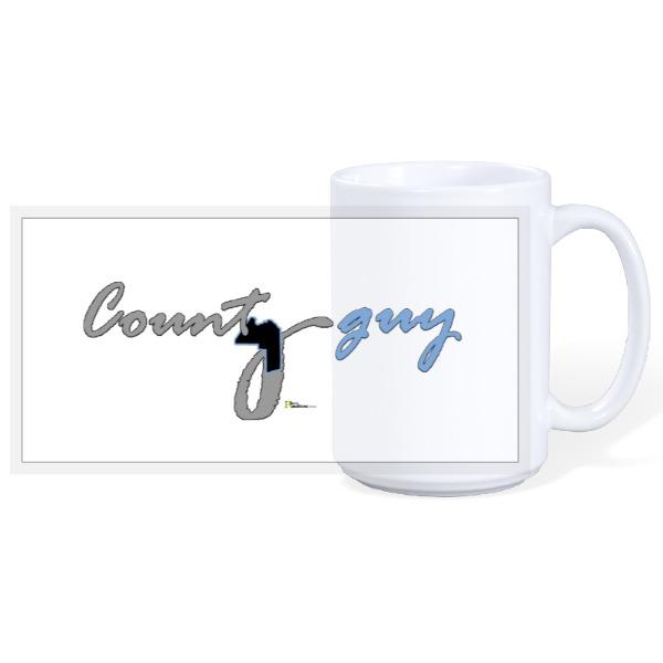 County guy - 15oz Ceramic Mug