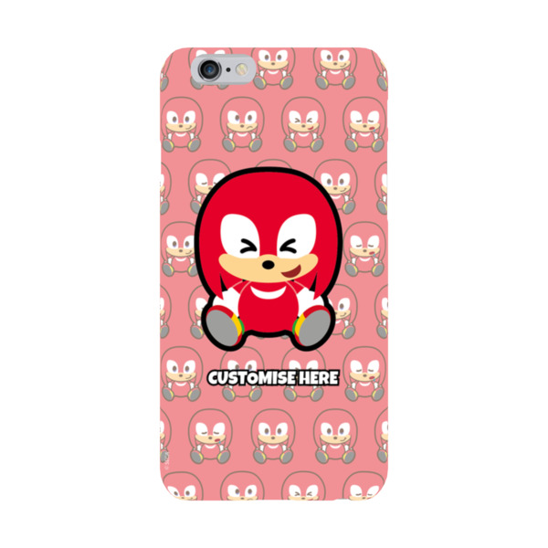 iPhone 6 Plus/6S Plus Case - Knuckles Emoji - Modern Sonic