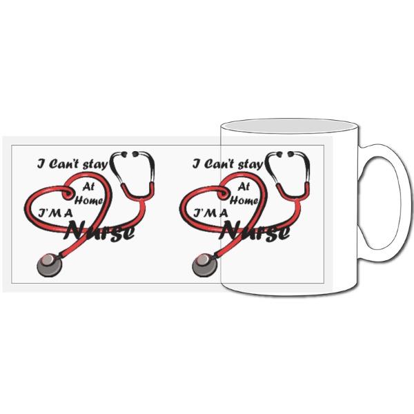 Nurse Covid 19 Mug - 10oz Ceramic Mug