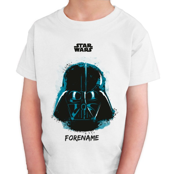 Star Wars Darth Vader Paint  Kids T-Shirt