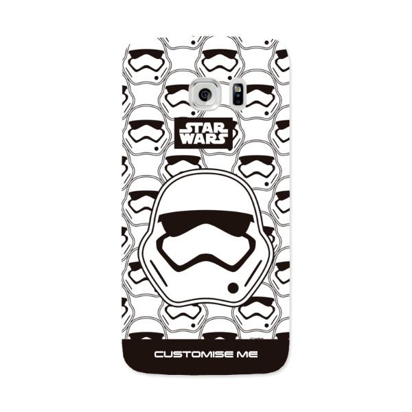 Star Wars Storm Trooper Icon Samsung Galaxy 7 Edge Phone Case