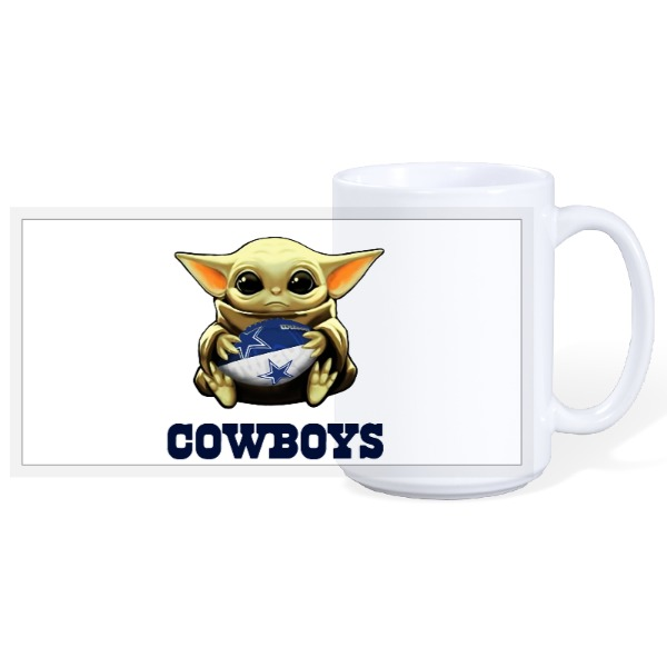 yoda cowboys - 15oz Ceramic Mug