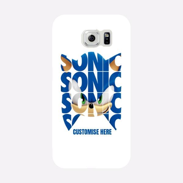 Samsung Galaxy S6 Phone Case - Sonic Text - Modern sonic