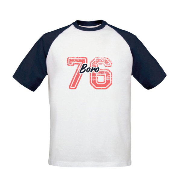 Middlesbrough FC Varsity Number Baseball T-Shirt