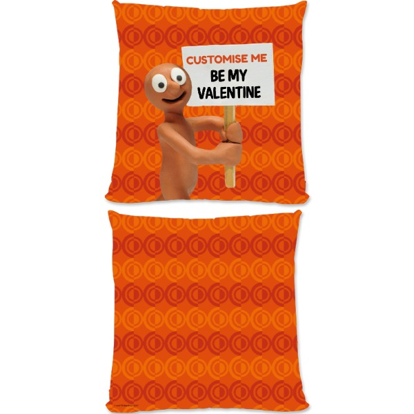 Aardman Morph 'Be My Valentine' Large Fiber Cushion
