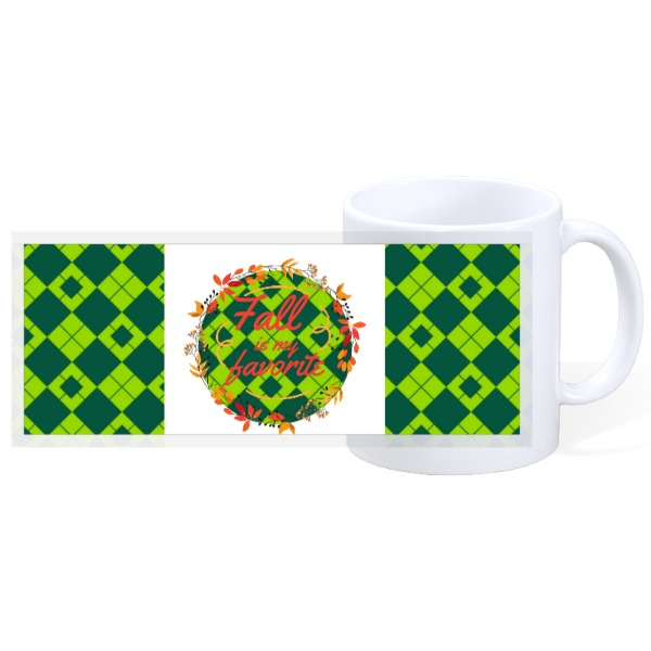 FALL IS MY FAVORITE - 11oz Ceramic Mug