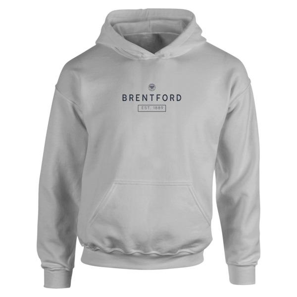 Brentford FC Minimal Hoodie