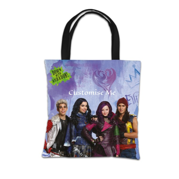 Disney The Descendants Group Design Tote Bag