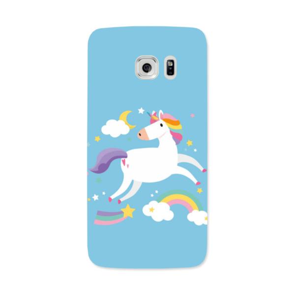 Unicorn Samsung Galaxy S7 Edge Hard Back Phone Case