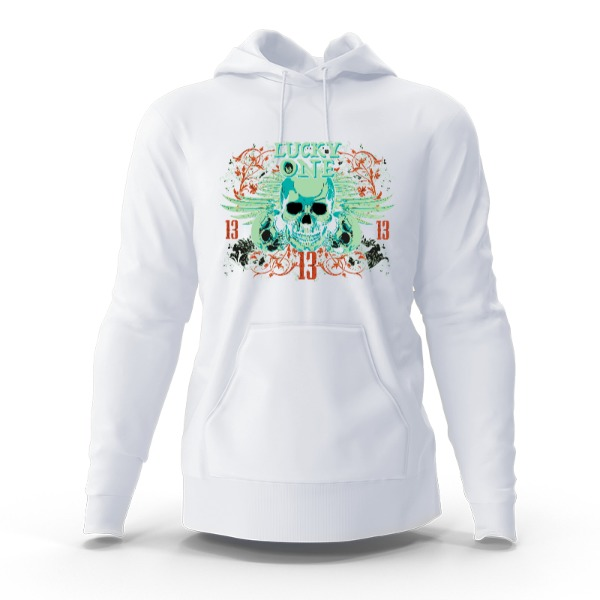 Lucky one - Hoody Sweatshirt Large Print Area