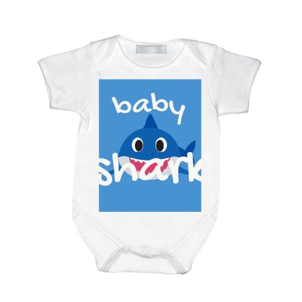 baby shark - Baby One Piece