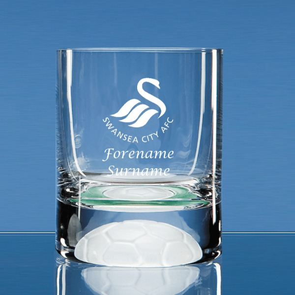 Swansea City AFC Personalised Crest Ball Base Tumbler