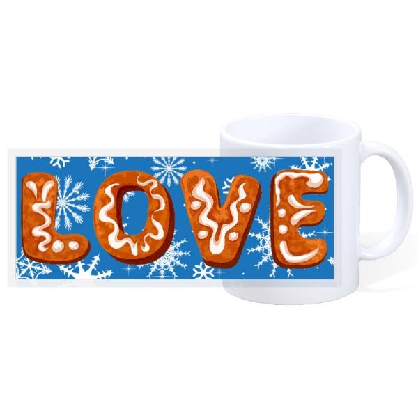 Love Christmas Mug - 11oz Ceramic Mug