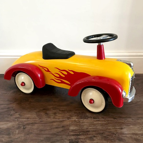 Personalised Ride On Car - Hot Rod Car
