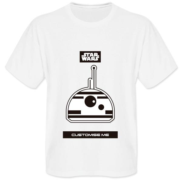 Star Wars BB8 Icon Mens T-shirt