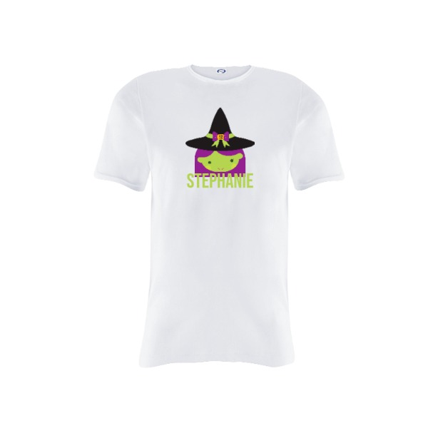 My little witch (personalize the name) - Youth Solar Short Sleeve Small Print Area