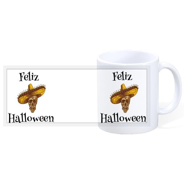 Feliz Halloween - Halloween 4 - 11oz Ceramic Mug