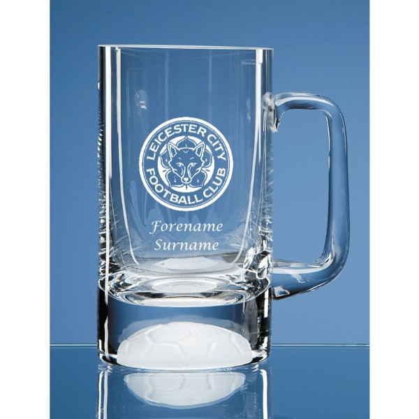 Leicester City FC Crest Half Pint Ball Base Tankard