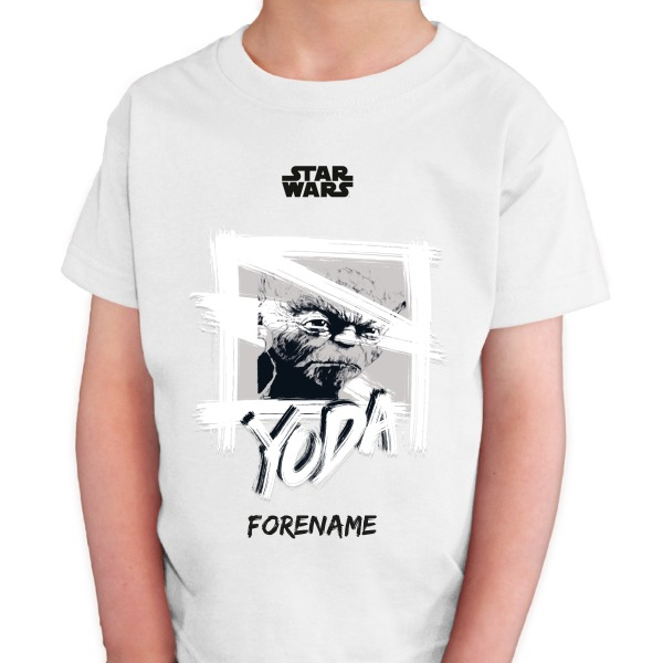 Star Wars Yoda Paint  Kids T-Shirt