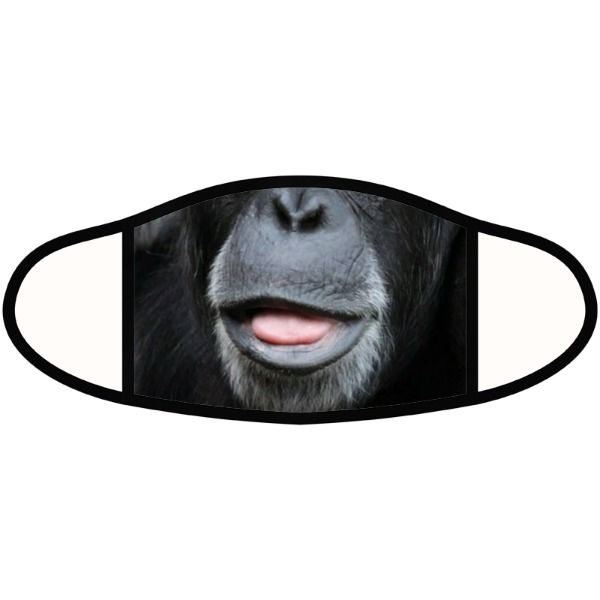 Chimp mask - Face Mask- Small
