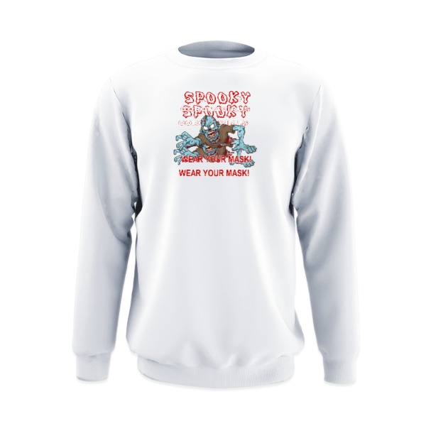 Crew Sweatshirt Small Print Area