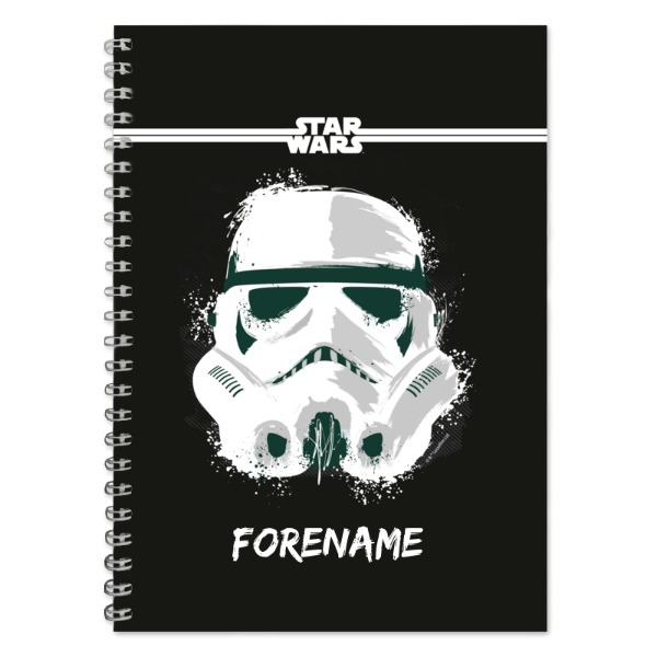 Star Wars Storm Trooper Paint A5 Notebook