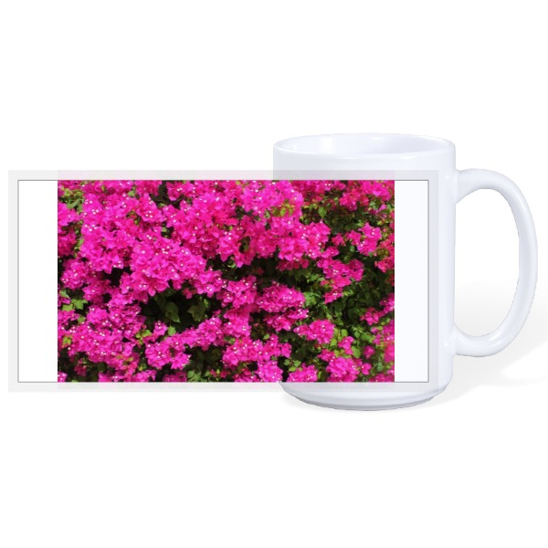 Flowers Bougainvillea - 15oz Ceramic Mug