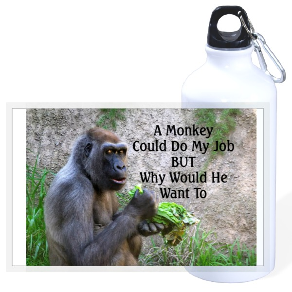 Monkey Job  - 20oz Travel Bottle