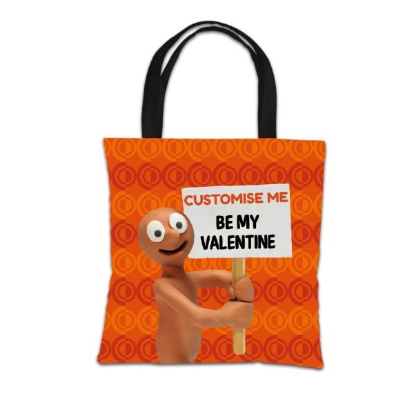 Aardman Morph 'Be My Valentine' Tote Bag