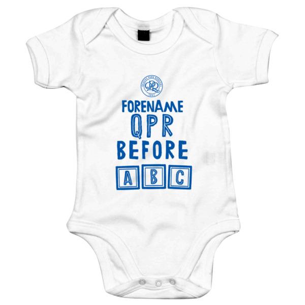 Queens Park Rangers FC Before ABC Baby Bodysuit
