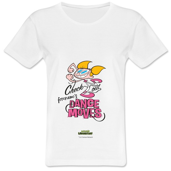 Dexter's Lab Dance Moves Womens T-shirt