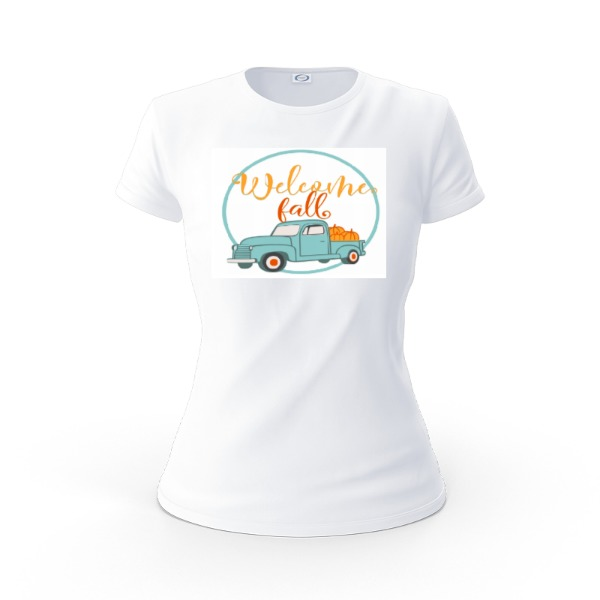 fall - Ladies Solar Short Sleeve Small Print Area