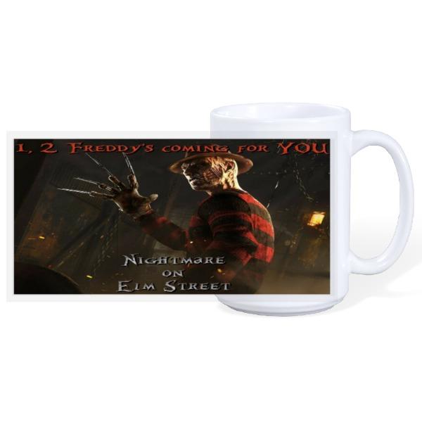 Nightmare On Elm  - 15oz Ceramic Mug