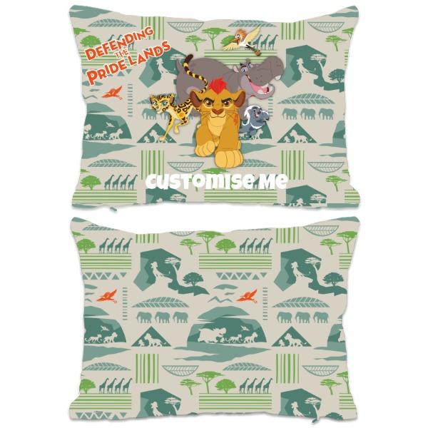 Disney The Lion Guard Group Defending The Pride Lands Extra Large Fiber Cushion