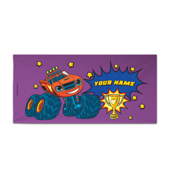 Blaze and the Monster Machines Towel - The Champion!