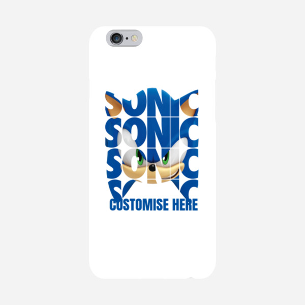 iPhone 6/6S Case - Sonic Text - Modern Sonic