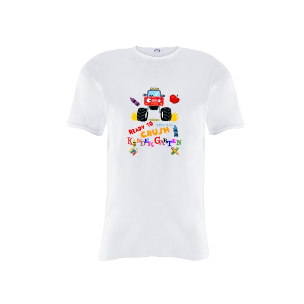 Ready to Crush Kindergarten - Youth Solar Short Sleeve